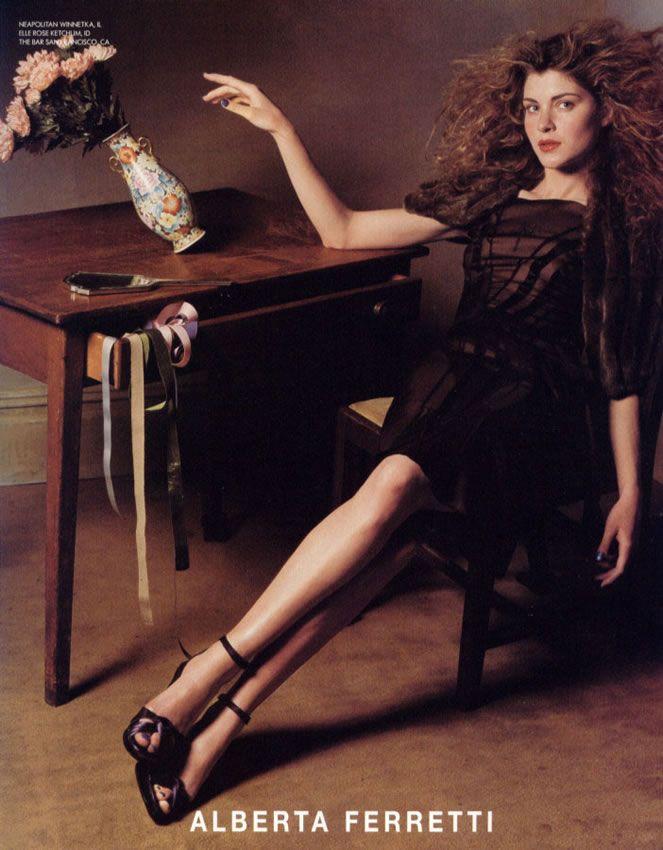 ☆ Vittoria Puccini   Photography by Steven Klein   For Alberta Ferretti Campaign   Fall 2004 ☆ #Vittoria_Puccini #Steven_Klein #Alberta_Ferretti #2004