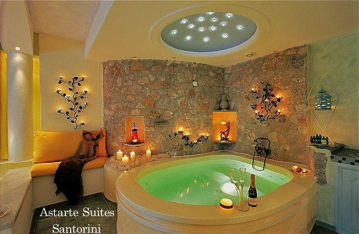 #Honeymoon #Private #Jacuzzi for #Couples #AstarteSuites #Santorini
