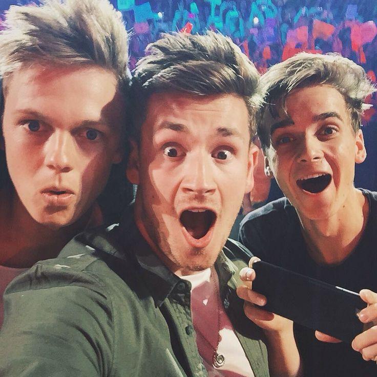 Caspar, Oli and Joe