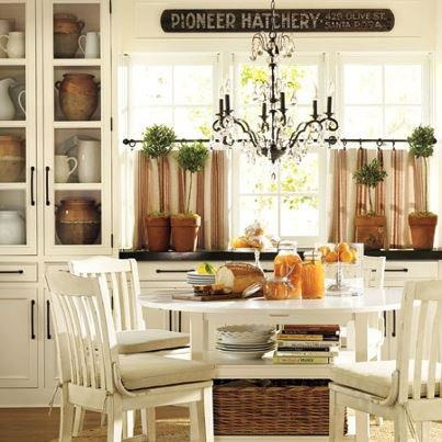 Cute country kitchen kitchens pinterest kitchens for Cute country kitchen ideas
