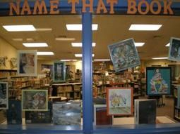 Name That Book. Find illustrations from children's picture books, and create a display to challenge your students to identify the title of the books.