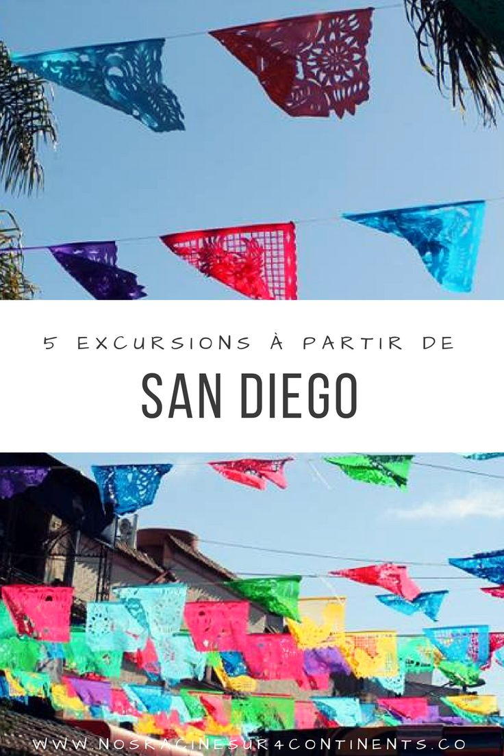 5 #excursions à ne pas manquer à partir de San Diego #SanDiego #Californie #USA