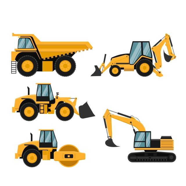 Construction Crane, Construction, Building, Vehicle PNG and Vector with  Transparent Background for Free Download