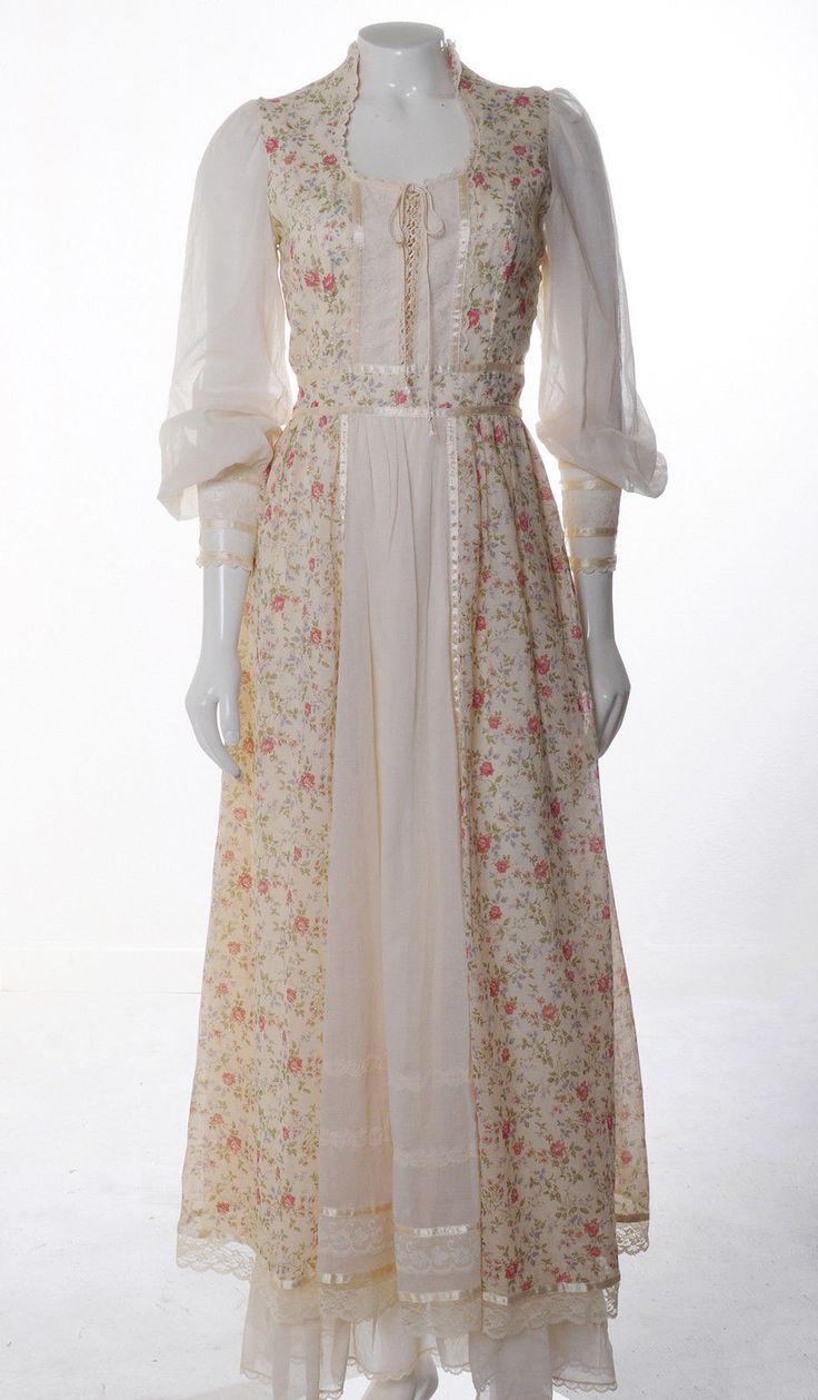 Gunne sax wedding dress   best Kickass clothes images on Pinterest  Gunne sax Vintage