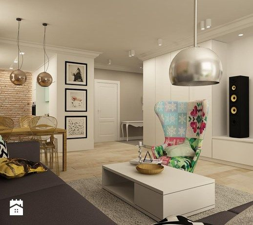 Salon, styl eklektyczny - zdjęcie od design me too