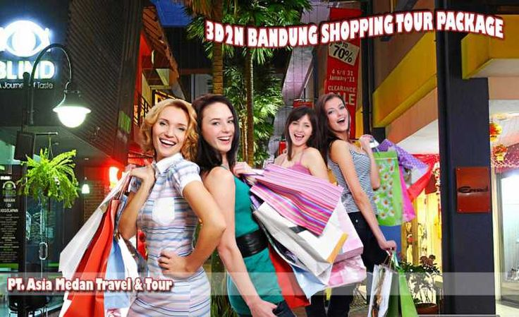 3D2N BANDUNG SHOPPING TOUR PACKAGE    DAY 01 : ARRIVAL - BANDUNG   Welcome to #Bandung ! You will be greeted by your tour guide / driver cum guide on arrival at International Airport Bandung . After meeting service, you and then transferred #PasarBaruShoppingCenter  for shopping. Check in hotel and free program    DAY 02 : SHOPPING TOUR (B)  After breakfast at hotel, we will bring visit to cibaduyut leather home industry, after lunch, after lunch, we will bring you shopping at Cihampelas ...