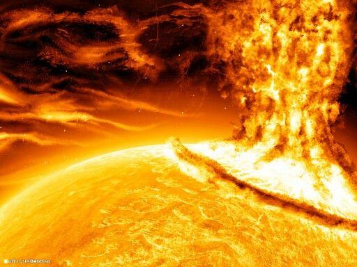 Solar Flare.                                                                                                                                                                                                                                                            Alberto Mateo, Travel Photographer