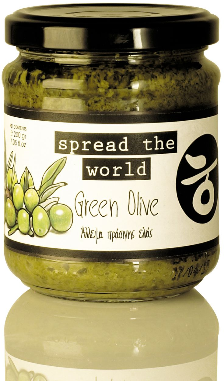 Green Olive Paste by Delicious Crete.