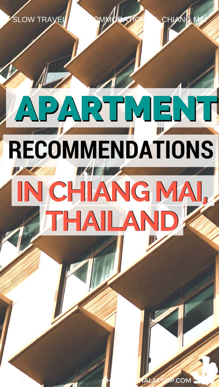 Don't bother looking at apartment listing sites. Here's a list of apartment recommendations from a digital nomad who's lived in Chiang Mai, Thailand for four years: http://hobowithalaptop.com/find-apartment-rental-chiang-mai-thailand