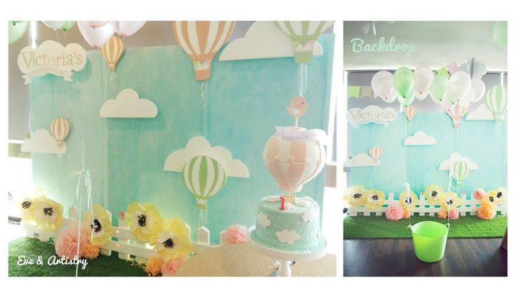 Backdrop for the party + the fun photo booth for the kids by Eve & Artistry.