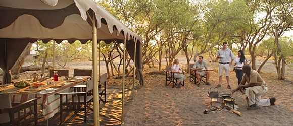 Savute Under Canvas is a luxury mobile tented camp in Chobe National Park.