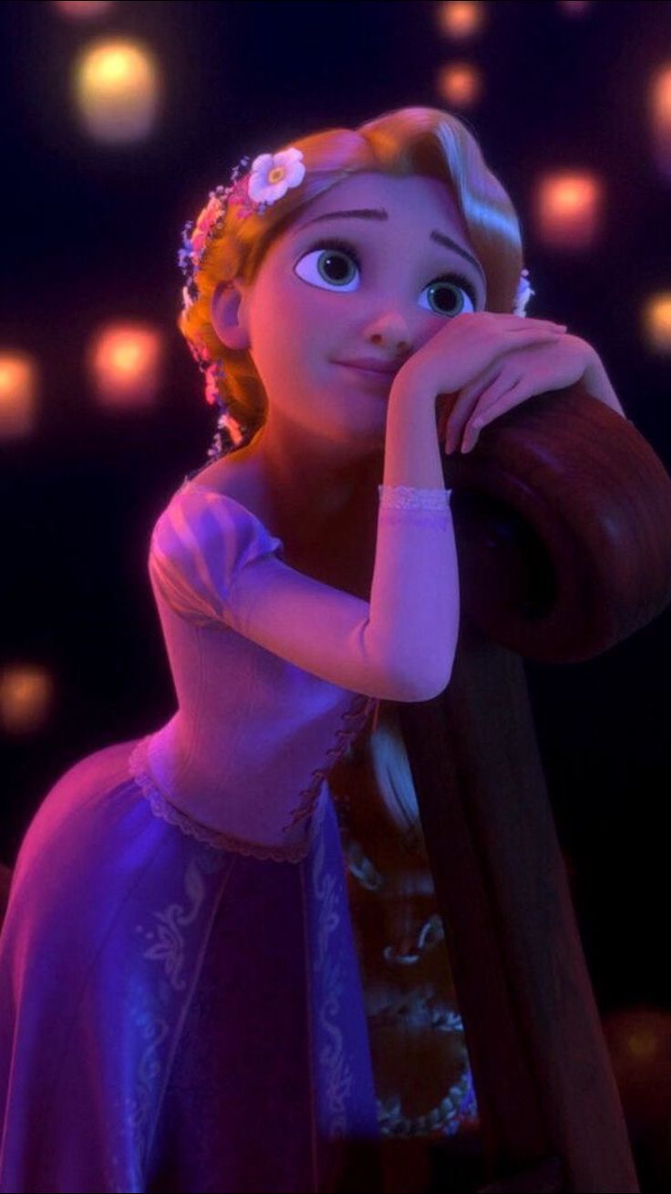 Rapunzel is so beautiful and gorgeous!!