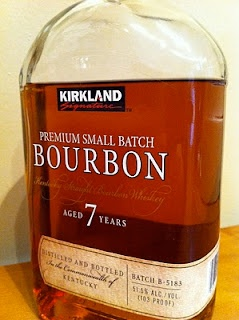 Costco's Kirkland Signature Bourbon - one of the products from the store we really like