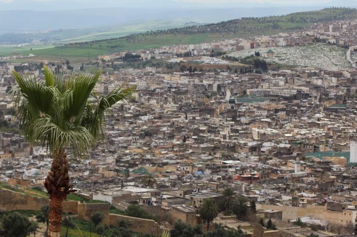 Scenery of Fez