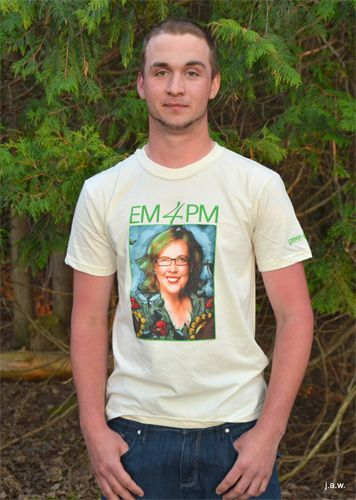 EM4PM Custom t-shirt.  Made in Canada!  Nation-saving pricing