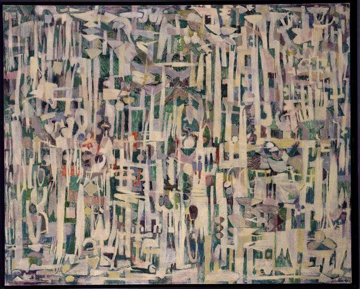 Pierre Alechinsky - Les hautes herbes (Las altas hierbas)