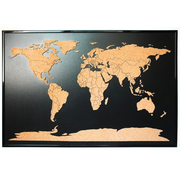 104 best world images on pinterest deep space mother earth and world map push pin corkboard with countries outlined cork sales map with frame world cork map gumiabroncs Image collections