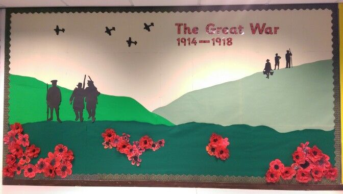 WW1 Classroom display