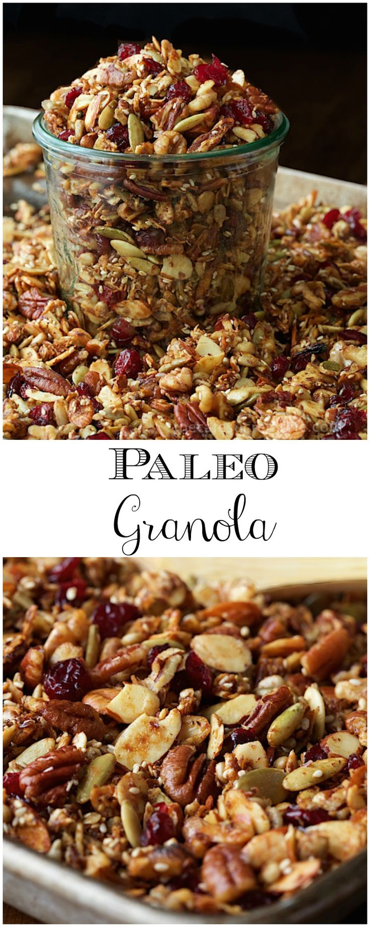 This Paleo Granola is something you have to try, not just for your health, but because, well, it's just so darn good, you won't believe it!