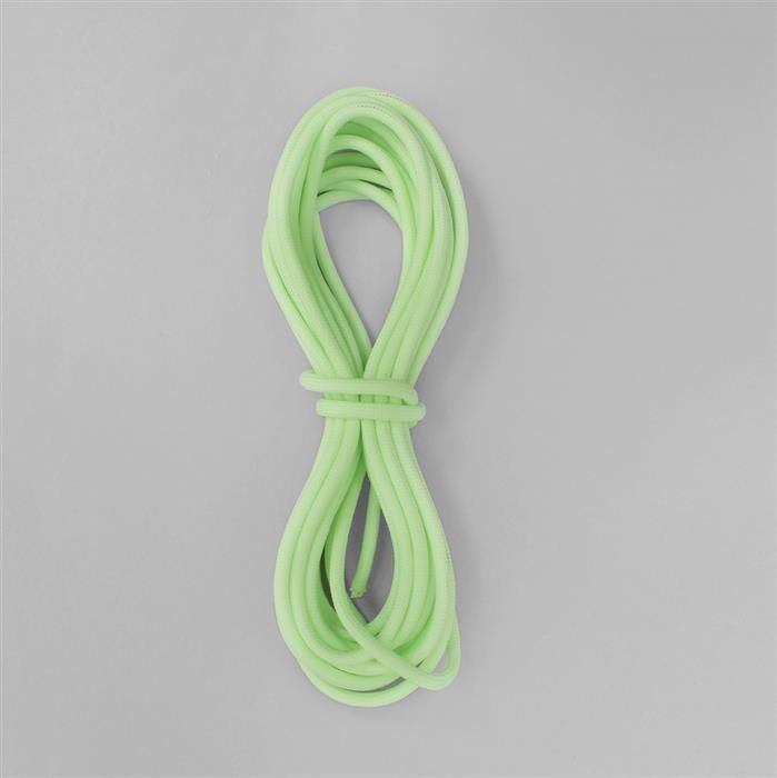 16ft Luminous Green Paracord Approx 4mm