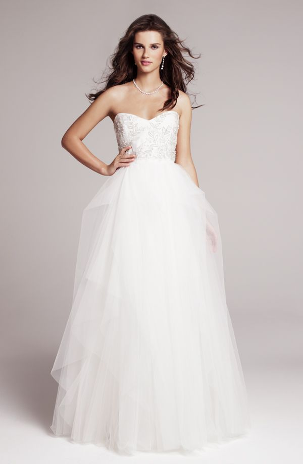 Beautiful beaded bodice on 'Ivy' from Roses by Reem Acra
