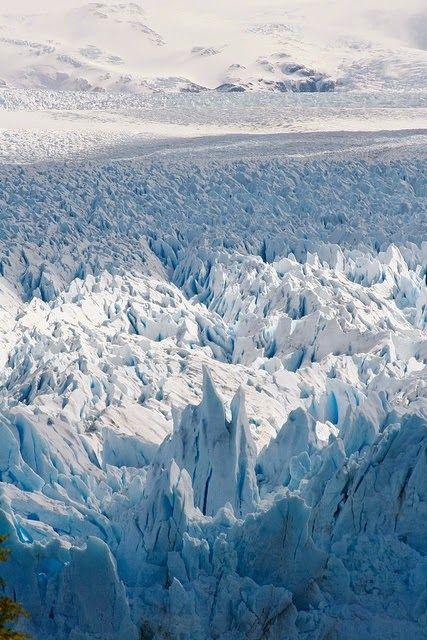 The Perito Moreno Glacier, Los Glaciares National Park, Santa Cruz, Argentina.