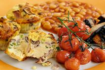 Ham and egg muffins – Recipes – Slimming World