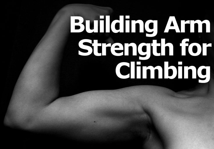 Having a well balanced overall strength is essential for climbing. Having strong arms is favorable to good technique. You don't want to be stuck in a situation where you can't perform the next move because you don't have the arm strength to push or pull the rest of your body. However, arm strength is generally considered to […]
