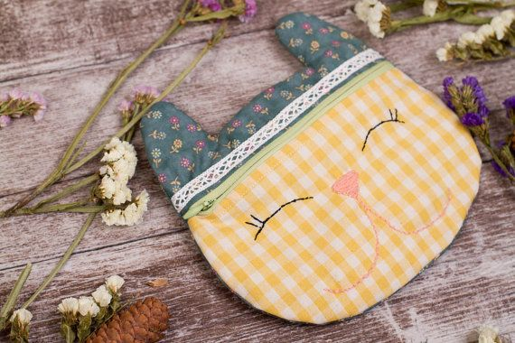 Cosmetic bag cosmetic bag bridesmaid make up bag by AngelinaLily