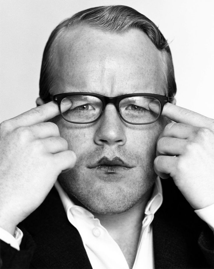 Philip Seymour Hoffman, by Herb Ritts (1999)
