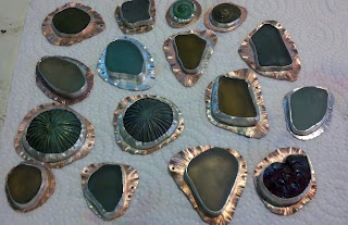 Love My Art Jewelry: A Picture Journey: Sea Glass Bezels -this is a wonderful guide to making bezels