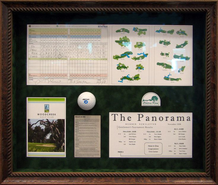 13 best hole in one club images on pinterest hole in one shadow hole in one shadow box memorabilia frame solutioingenieria Images