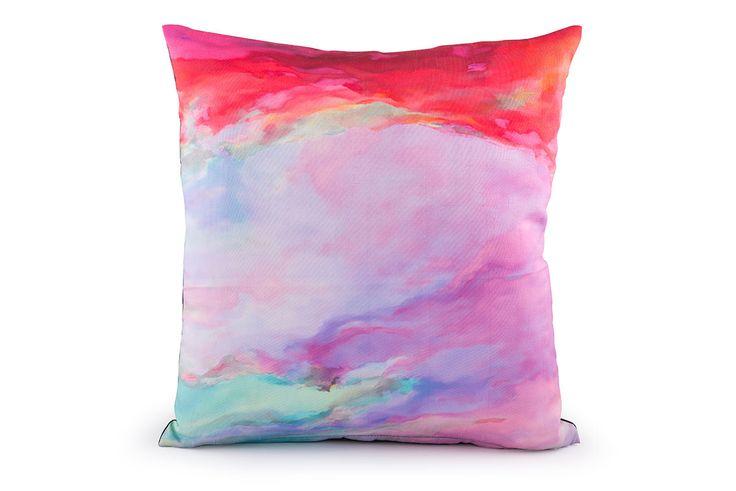 Pinks Digital Print Cushion Cover by Suraaj Linens