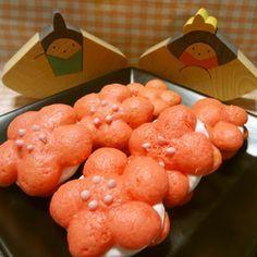 ひなまつり♪桃の花ウーピーパイ