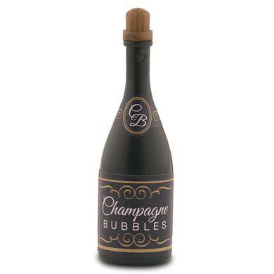 Wedding Bubbles in Champagne Bottle Favor
