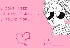 Fairy Tail valentine card by ~chibiklompen on deviantART