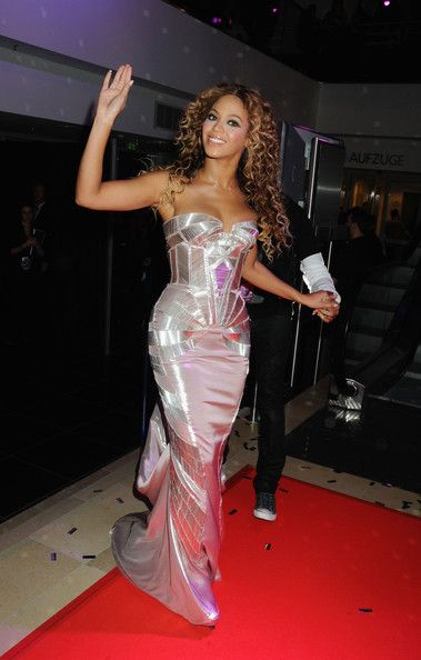 Beyonce at the 2009 MTV Europe Music Awards