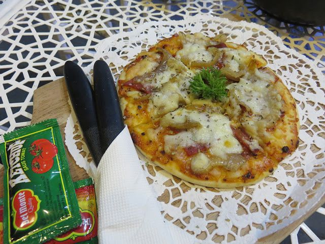 Smoked Beef Pizza