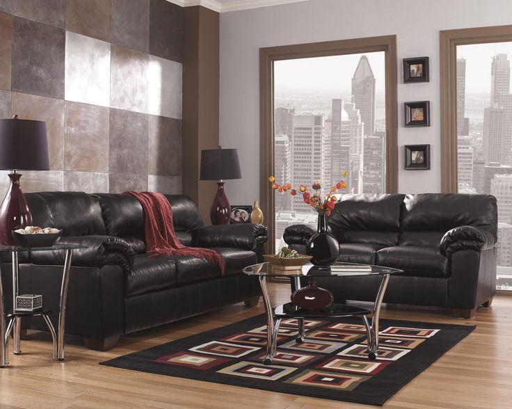 Commando Black Sofa. Furniture NycLeather Living Room ...