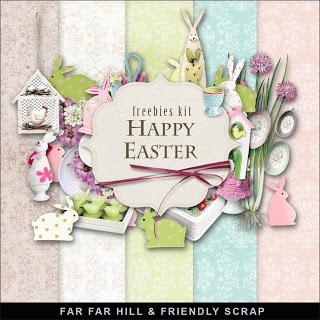 Wednesday's Guest Freebies -Far Far Hil Free digital scrapbook supplies