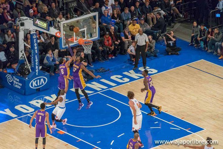 La experiencia de vivir un partido de la NBA en Nueva York