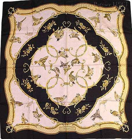 """La Cle des Champs (from <a href=""""http://piwigo.hermesscarf.com/picture?/2949/category/Home"""">HSCI Hermes Scarf Photo Catalogue</a>)"""