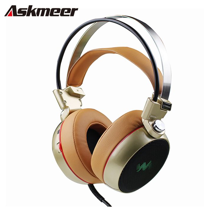 Gaming Headset Gamer casque 3.5mm Computer Stereo Game Headphones headfone with Micropone Led Light fone de ouvido
