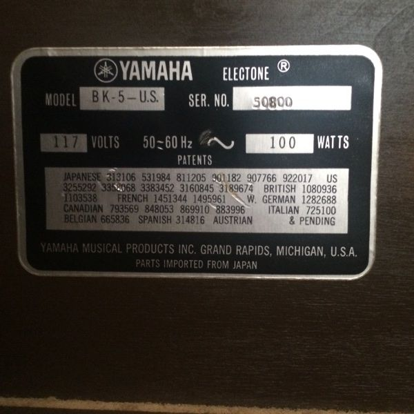 For Sale: Yamaha Piano for $1000