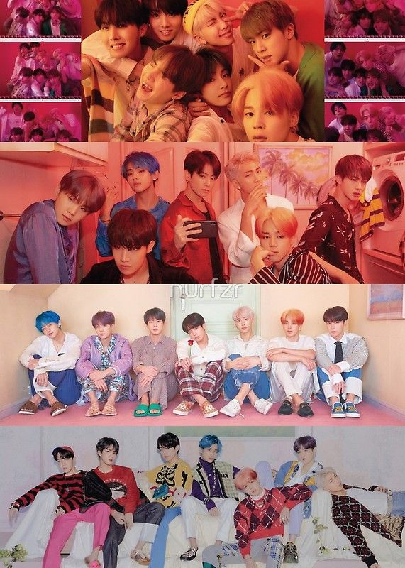 Bts Map Of The Soul Persona Foto Grup Bts Gambar Gambar Mode Bts map of soul persona wallpaper