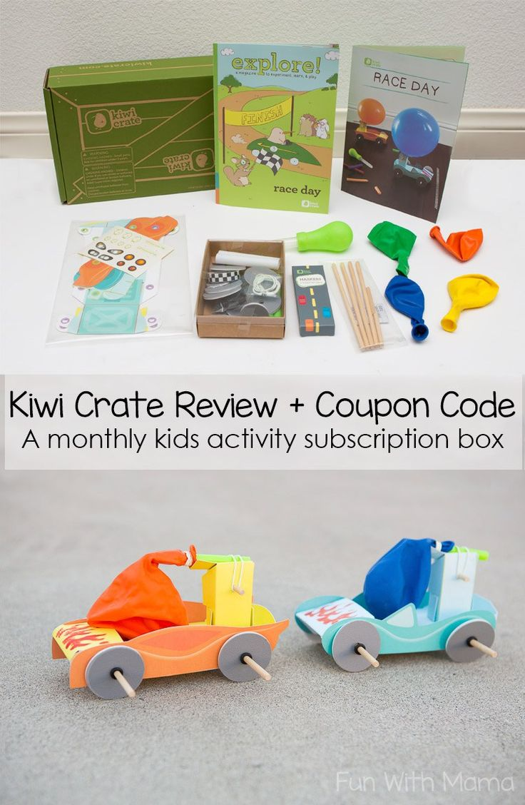 Kiwi Crate Review and Coupon Code, Monthly Subscription Boxes for Kids, Monthly Boxes for Kids, Kids Craft Boxes, Craft Boxes for Kids, Educational Activities for Kids