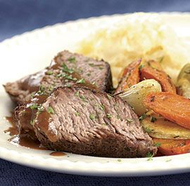 Slow Cooker (Crockpot) Recipe For Pot Roast With Sweet And Sour Tomato ...