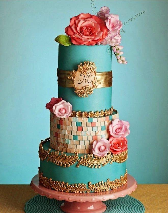 Best Wedding Cakes of 2014 ~  Coco Cakes | bellethemagazine.com