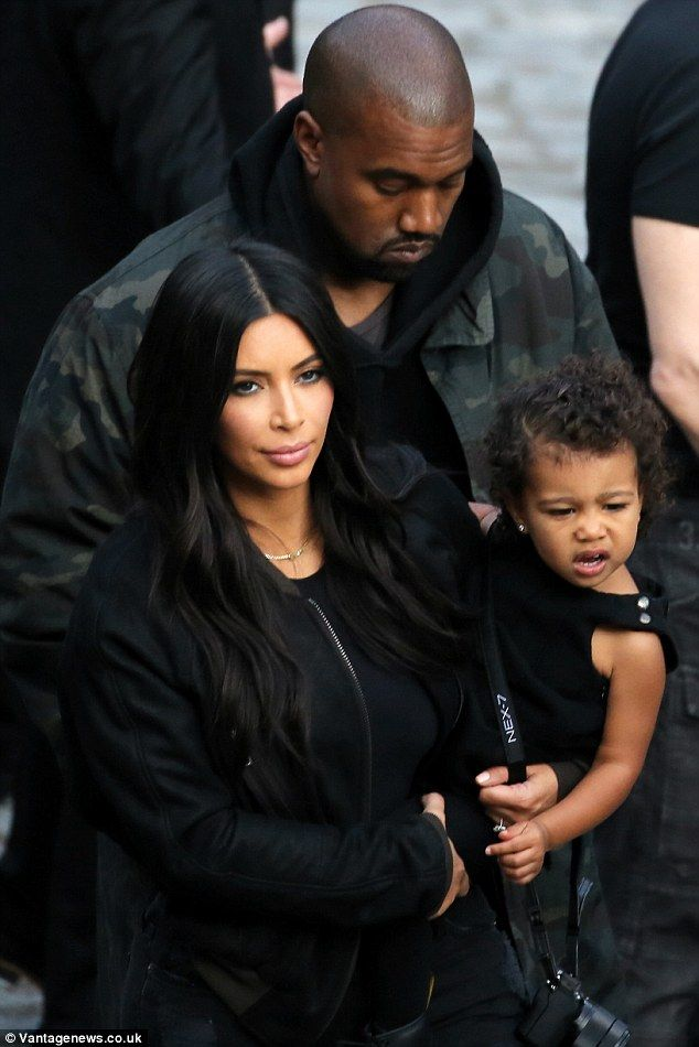 'It's getting exhausting': The 34-year-old said the process with husband Kanye West has been tiresome in in trying to conceive a younger sibling for 20-month-old North, as the family are pictured together on their Armenian vacation on April 9