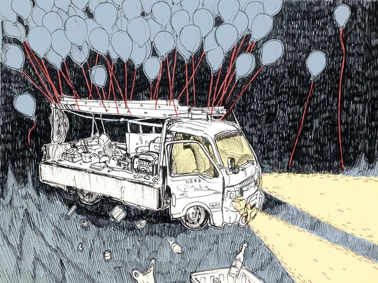 Dreamy Trucks Can Fly